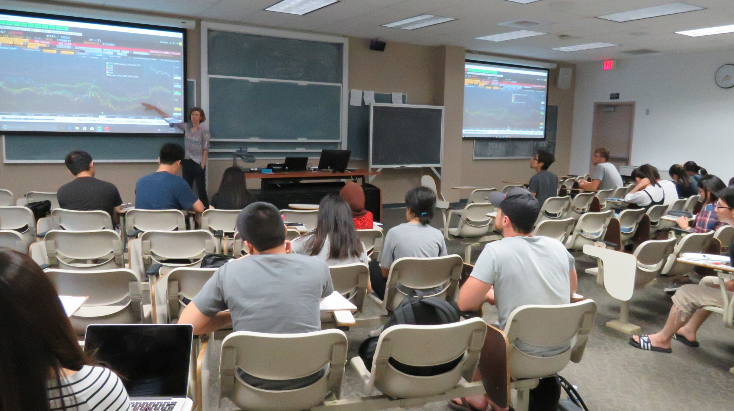 UC Davis Agricultural and Resource EconomicsARE Students and Faculty Benefit from Insider's View of Financial Markets through Bloomberg TerminalSection Navigation:More NewsContact Us